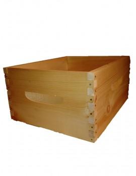 Boîte avec queue d'aronde
